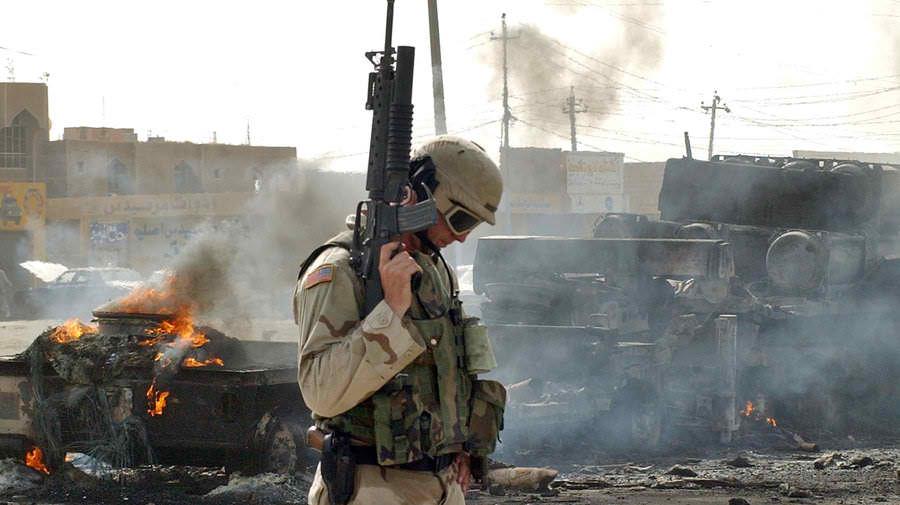 US military in Falluja, 2004