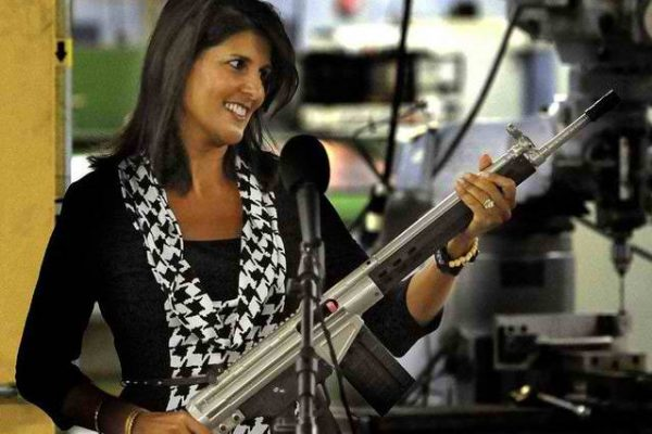 """Pranksters Convince Nikki Haley There Is a Country Called """"Binomo"""""""