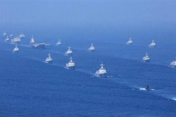 Chinese Navy Now at 40 Percent of the American One by Tonnage, Poised to Overtake It by Late 2020s