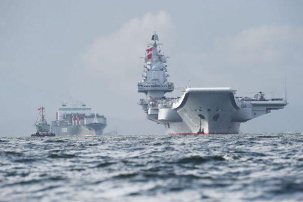 China Declares Its Soviet-Built Carrier a 'Combat Ship'
