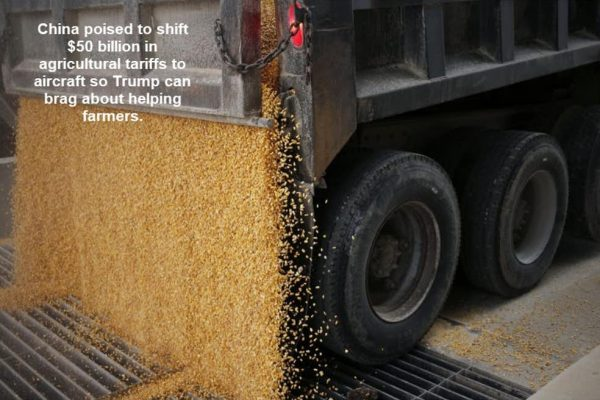 Trump Asks China to Shift Soybean Tariffs to Something Else — If We Didn't Know They Hurt Before