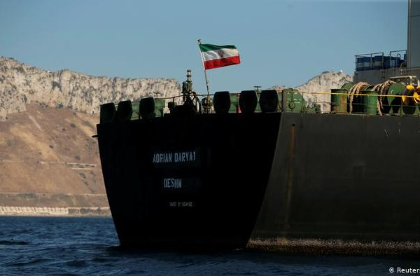 Iranian Oil Tanker Pursued by Bolton Changes Listed Destination to Turkey