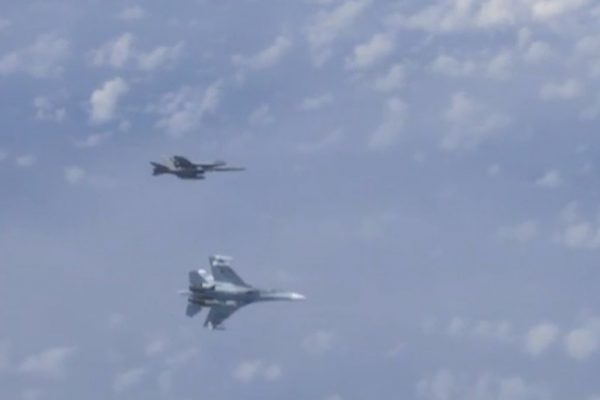 NATO Harasses Plane With Russian Defense Minister on Board, Russian Fighter Gets Into Its Face