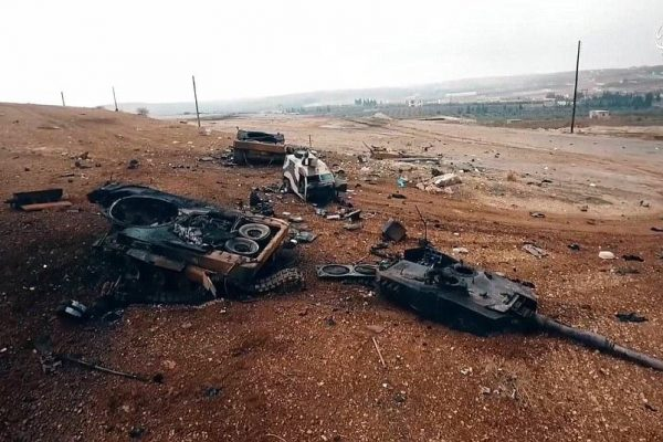 German-Made Leopard 2 Tanks Were Mauled Badly in Syria Battles