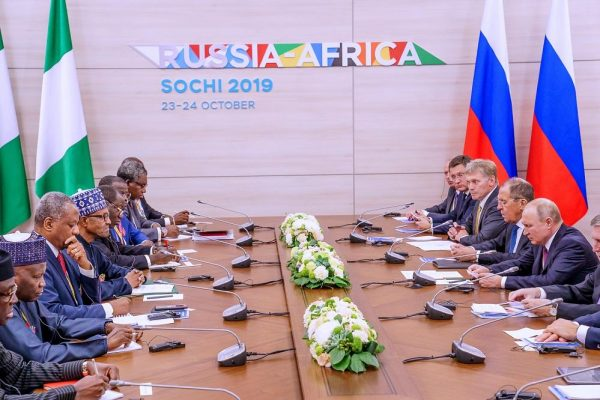 Russian and Saudi Oil Giants Team Up in Africa