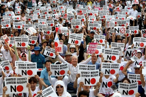 South Koreans Would Back North Korea in a War With Japan 3 to 1