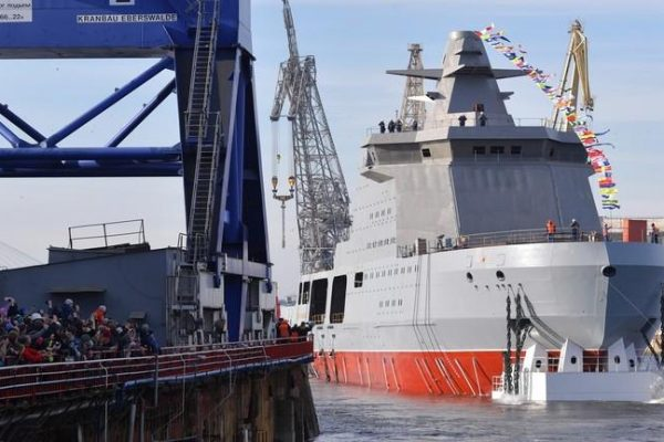 Russia Launches One of a Kind 'Combat Icebreaker' Laden With Anti-Ship Missiles