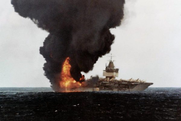 How a Single Missile Nearly Destroyed a US Navy Supercarrier