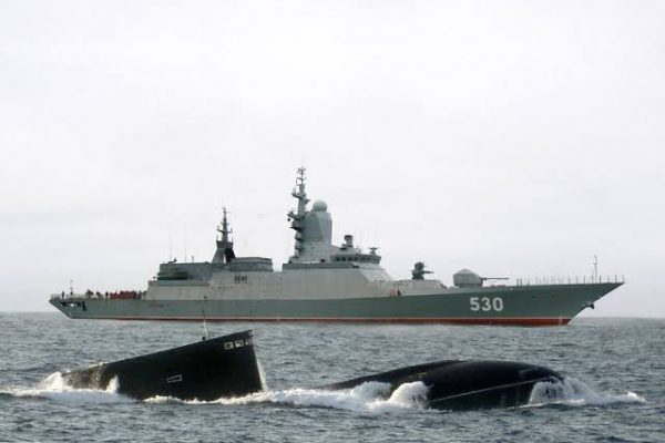 Putin Confirms Russia's Tiny 2000-Ton Corvettes Will Come With HYPERSONIC Anti-Ship Missiles