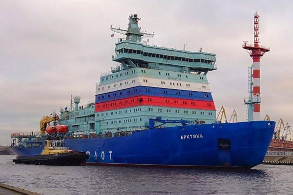 World's Largest Icebreaker Starts Sea Trials