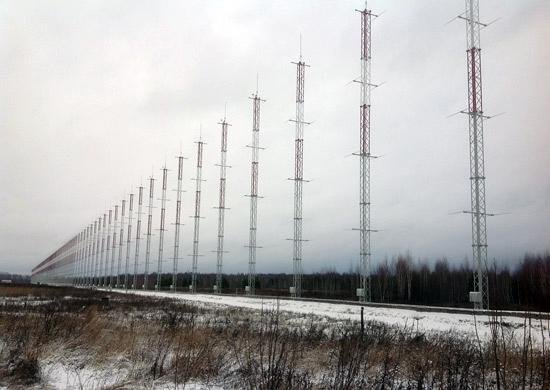 Russia Switches On a Gargantuan Over-the-Horizon Radar to Spot Assailants From the West