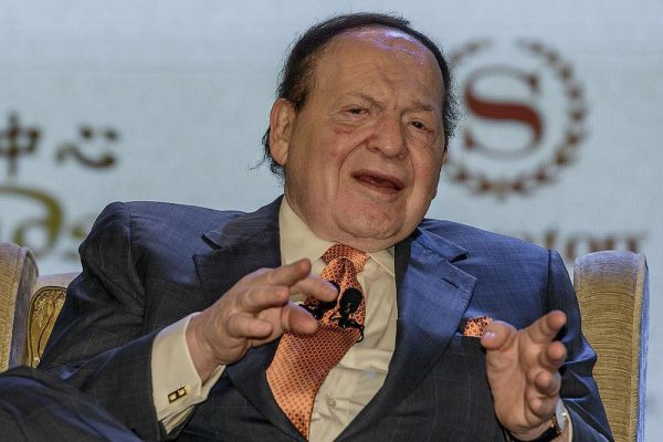 Was Sheldon Adelson Acting as Bag Man for the CIA?