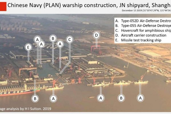 A Single Chinese Naval Yard Is Building More Destroyers Than Are in the Entire British Navy