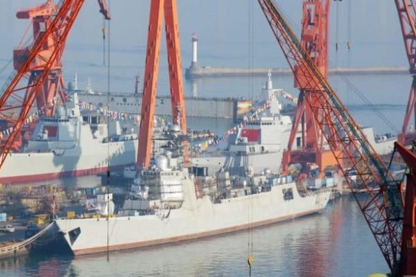 China Launches 3 Destroyers…in a Single Week