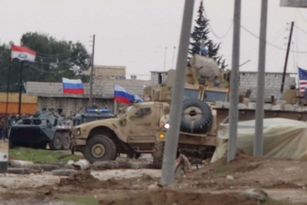 """US Patrol Turned Back at Syrian Army Checkpoint. US Officer: """"We Are Here to Bring Peace Just Like the Russians"""""""