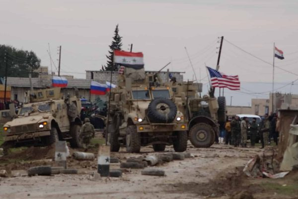 Syrian Army and Villagers Block US Patrol, Standoff and Gunfire Ensue, Russians Arrive to Defuse, Americans Leave
