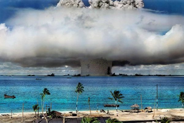 US Dug Up 130 Tons of Irradiated Soil From Nevada and Dumped It on the Marshall Islands
