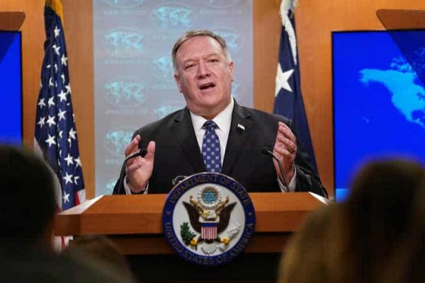 Pompeo Demands Syria Institutes a 'Permanent Ceasefire' With al-Qaeda, Says Looking for Ways to Help Turkey