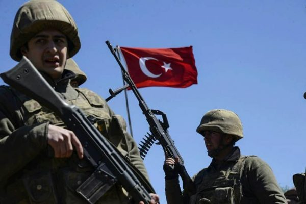 VIDEO: Turkish Troops Fire Missile at Russian Strike Aircraft