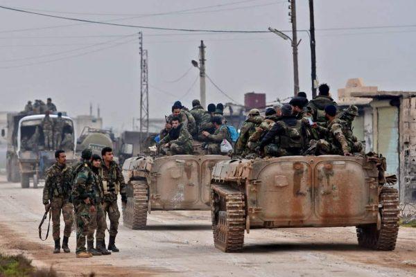 Inside a Single Week Syrian Troops Fought Turkey, Israel, the US and Al-Qaeda
