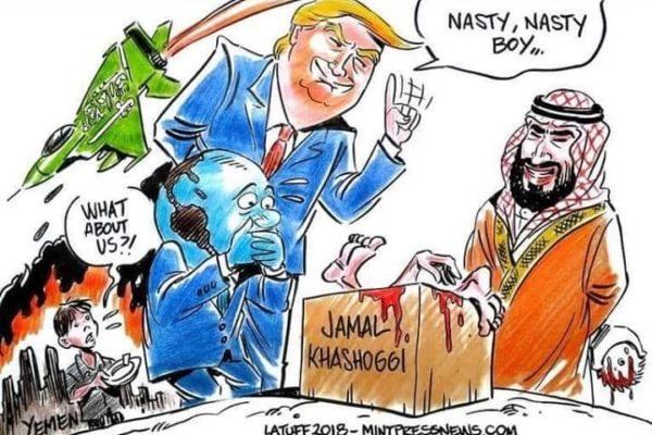 Geopolitical Genius Donald J. Has Backed Saudi Arabia's MBS to the Hilt Only to Get a Price War on US Shale in Return