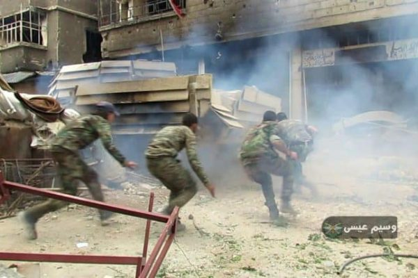 Wounded and Shaken the Syrian Army Goes on the Counter-Offensive, Wins