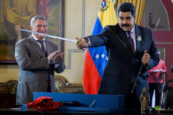 Rosneft Hands Over Its Venezuela Assets to the Russian State to Shield Itself From Uncle Sam's Sanctions